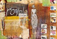 PGM Birgit Lorenz - Royale Post for me Kunstdruk 100x70cm