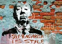 PGM Edition Street - Self-Plagiarism is style Kunstdruk 70x50cm