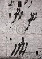 PGM Edition Street - Walking the Wall Kunstdruk 50x70cm