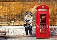 PGM Edition Street - Red Telephone Box Kunstdruk 70x50cm