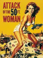 PGM Liby - Attack of the 50FT. Woman Kunstdruk 60x80cm