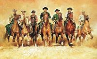PGM Renato Casaro - The magnificent Seven Kunstdruk 138x85cm