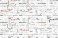 Dimex Thank You Vlies Fotobehang 375x250cm 5-banen