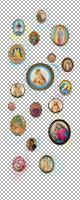 Komar Polka Dots Fotobehang 100x250cm 2-banen