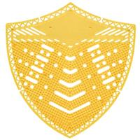 Edge urinoirmatje Shield mangogeur 10 stuks