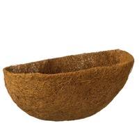 Nature 3 Stuks Kokosinlegvel Voor Hanging Basket Voorgevormd Met Waterkering Een Halve Dia. 35cm