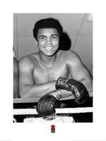 Pyramid Muhammad Ali Smile Kunstdruk 60x80cm