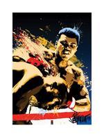 Pyramid Muhammad Ali Sting Petruccio Kunstdruk 60x80cm