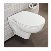 VITRA Douche WC S20  Douche Hangtoilet zonder rand flush 2.0 355x420mm Wit 7741B003-0850